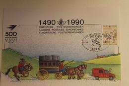 Belgien; Sonderblatt,Erinnerungsblatt,Gedenkblatt: 500 Jahre Post; SST Messe Essen - Zonder Classificatie