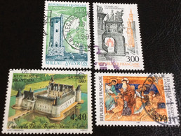 TIMBRES   DE    FRANCE   N° 3079  A  3082          OBLITÉRÉS  ( LOT:4741 ) - Usados
