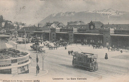 Lausanne - La Gare Centrale - - Unclassified