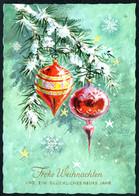 9936 - Glückwunschkarte Weihnachten Baumbehang Tannenzweig - Krüger Karte - Non Classificati