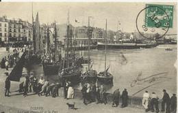 Carte De Dieppe De 1909  Avec Le Cachet LONDON MB Poste Maritime - Ohne Zuordnung