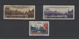 RUSSIE.  YT  N° 1040/1042  Neuf *  1946 - Nuovi