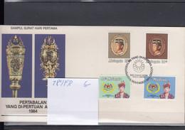 Malaysia Michel Cat.No. FDC 289/292 - Malesia (1964-...)