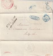 MARQUES POSTALES - Ministère De La Marine Et Des Colonies , Le 08/12/1835 - 1801-1848: Voorlopers XIX
