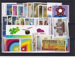 Luxembourg  2008 Année Complète , Neuf ** , TB - Unused Stamps