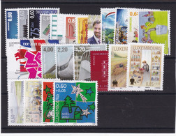 Luxembourg  24 Timbres De 2012 , Neuf ** , TB - Unused Stamps