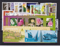 Luxembourg  37 Timbres De 2010 , Neuf ** , TB - Unused Stamps