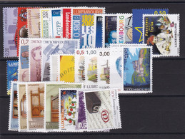 Luxembourg  31 Timbres De 2009 , Neuf ** , TB - Unused Stamps