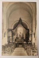51 - BOUILLY - CARTE PHOTO - Interieur De L'église - TOP - Marne - Altri Comuni