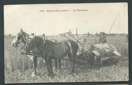 N°  157  -  Scènes Du Centre - La Moisson   (v Pelurage Dans Un Angle Au Dos )  - Maca 2146 - Centre-Val De Loire