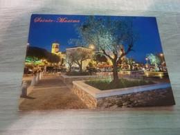 SAINTE-MAXIME - L'EGLISE ET LA TOUR CARREE - EDITIONS COMBIER - ANNEE 2014 - - Sainte-Maxime