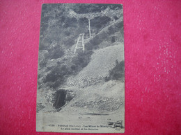PINOLS , 43 . Les Mines De Montgros . Le Plan Incliné Et Les Galeries - Ohne Zuordnung