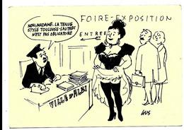 ALBI - 20e FOIRE EXPO - Dessin De GUS Illustrateur Toulouse Lautrec Humour (1987) - Albi