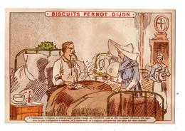 Chromo Biscuits Pernot, Dijon, à L'hôpital - Pernot