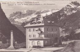 1236/ Albergo E Pensione Bernard, Canazei In Fassa Verso Il Catinaccio ( Rosengarten) - Andere Steden