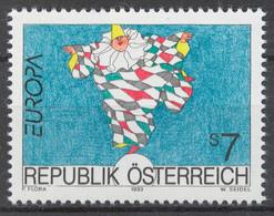 Austria 1993 Mi# 2095** EUROPA CEPT - 1991-00 Unused Stamps