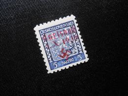 D.R.Mi 1   5H** - Sudetenland (Karlsbad)  1938 - Mi 320,00 € - (ric) - Ocupación 1938 – 45