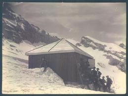 74 LE REPOSOIR Le Chalet Refuge  Photo Originale 12 X 16 Cm - Luoghi