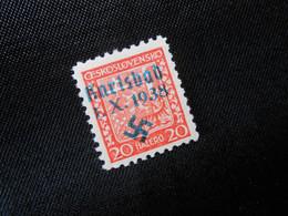 DR Mi 3A   20H** - Sudetenland (Karlsbad)  1938 - Mi 60,00 € - (ric) - Occupazione 1938 – 45
