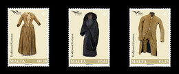 2019 EUROMED Issue - Traditional Costumes, Malta, MNH - Malta