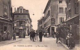 S44-047 Thonon Les Bains - La Rue Des Arts - Thonon-les-Bains