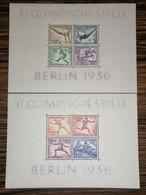 Allemagne / Blocs 4 Et 5 MNH XX - Blocks & Sheetlets