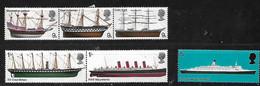 GB 1969 BRITISH SHIPS SET MNH - Ongebruikt