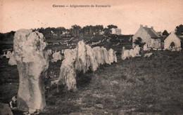 CPA - CARNAC - ALIGNEMENTS De KERMARIO - Edition Z.Le Rouzic - Carnac