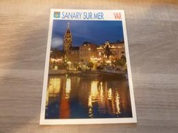 SANARY-SUR-MER - ILLUMINATIONS DE L'HOTEL-DE-VILLE ET DE L'EGLISE - EDITIONS GUY BORENS - ANNEE 1997 - - Sanary-sur-Mer