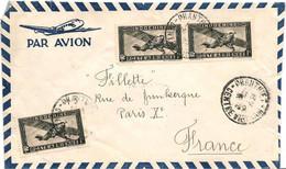 Lettre De Phanthiet  Le 18 Ou 19-4-51 Avec 3 X PA11   Pour Paris - Brieven En Documenten