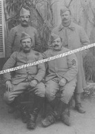 """01 VIRIAT / CARTE PHOTO / 1917 / SOLDATS BRESSANS DONT DEUX POILUS DE """"VIRRIAT"""" - Other Municipalities"""