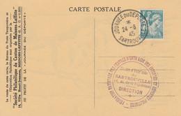 OBLIT. TEMPORAIRE JOURNEE Du DEPORTE - SARTROUVILLE 24.6.45 - Bolli Commemorativi