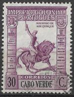 Cabo Verde – 1938 Império Colonial Português 30 Centavos - Kaapverdische Eilanden