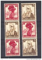 Allemagne  -  Reich  -  Se Tenant  :  Mi  S 236 + 238  ** - Zusammendrucke