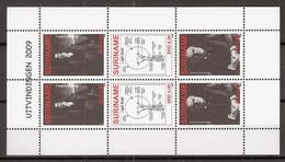 Suriname 2009 Edison, Davy, Lightbulb, Lamp Complete Sheet .  MNH/**/Postfris - Surinam