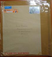 GB - Regno Unito - GREAT BRITAIN - UK - 1998 - 10 Pounds - Registered - Big Envelope - Viaggiata Da London Per Overijse, - Cartas