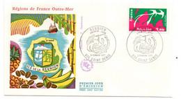 1977 --FDC -Régions De France--France D'Outre-Mer--La Réunion --cachet  974 - ST  DENIS......à Saisir - 1970-1979