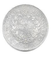 Piece Argent De 1977 - M. 50 Francos