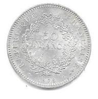 Piece Argent De 1978 - M. 50 Francos
