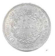 Piece En Argent De 1979 - M. 50 Francos