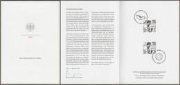 """Bund: Minister Card - Ministerkarte Typ VII, Mi-Nr. 3568 ESST: """" 100. Geburtstag Fritz Walter """" X - Covers & Documents"""