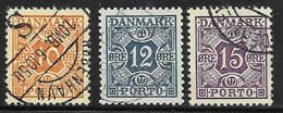Denmark Scott # J30-2 Used Numeral, 1934-5 - Port Dû (Taxe)