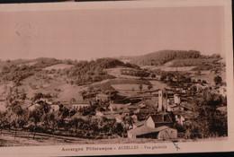 11370  AUZELLES TIMBRES  38   ECRITE - Auvergne