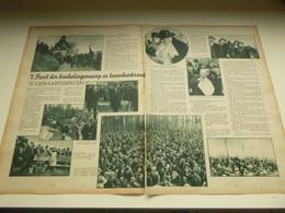 """Origineel Knipsel ( 2844 ) Uit Tijdschrift """"  De Stad """"  1934 :   Geeraardsbergen   Geraardsbergen - Unclassified"""