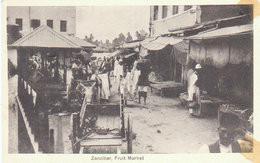 Zanzibar  Tanzanie     Fruit Market - Tanzanie