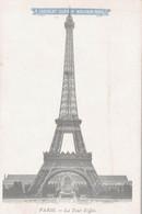 CHROMO V° CP  CHOCOLAT GUERIN-BOUTRON   PARIS  LA TOUR EIFFEL - Guerin Boutron