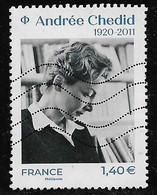 2020  100. Anniversaire De Andrée Chedid - Gebruikt