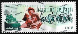 2019  75e  Anniversaire De La Liberation De Paris - Used Stamps