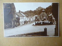 PICTURE CARD DUNSTER MARKET   POSTMARK BIRCHINGTON KENT 1926 - Poststempel
