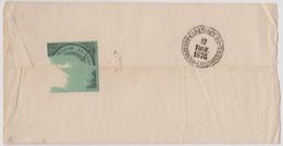 Russia Postal Seal Letter Kozlov-Saratov Rairoad 1876 Year - Covers & Documents